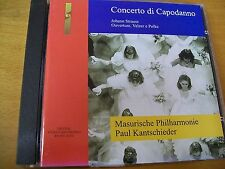 STRAUSS CONCERTO DI CAPODANNO PAUL KANTSCHIEDER  CD