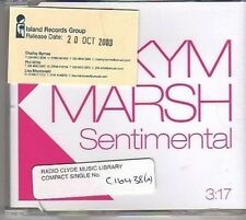 (BM210) Kym Marsh, Sentimental - 2003 DJ CD