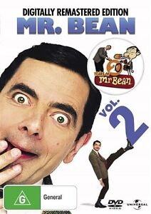 Mr. Bean - Vol 2: Digitally Remastered Edition (DVD,2010) NEW+SEALED  t6