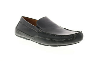 Clarks Ashmont Step 26149629 Mens Black Loafers & Slip Ons Moccasin Shoes