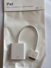 Dock Connector to HDMI Adapter Cable For Apple iPad 2 3 iPhone 3 4 4S iPod white