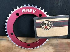 NEW Brev. M Masi Fixie Fixed Gear ChainRing Sprocket Chain ring 42t Red 130 BCD