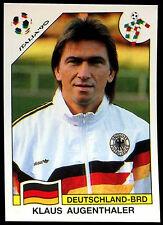 Italia '90 Klaus Augenthaler #198 World Cup Story Panini Sticker (C350)