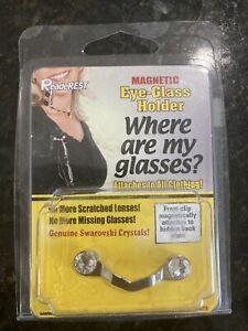 magnetic eye glass holders With Genuine Swarovski Crystals Brand New