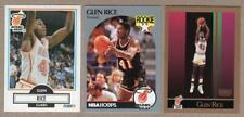 GLEN RICE Rookie Cards Lot of 3 - 1990-91 Fleer #101, Hoops #168 x2, Skybox #150