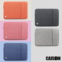 CAISON 11.6 12.5 13.3 14 15.6 17.3 inch Laptop Sleeve Case 10.1 inch Tablet Case