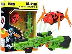 BSD Laser Tag Set Call of Life WINYEA Laserpistolen Nanorobot - Grün