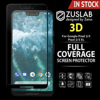 For Google Pixel 3 3 XL 2 2 XL ZUSLAB 3D Tempered Glass Full Screen Protector