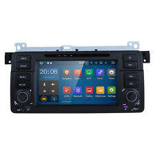 Android7.1 Car DVD GPS Navigator 1DIN Radio Stereo TV OBD2 for BMW 3 Series E46