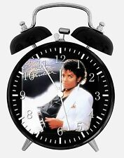 "Michael Jackson Alarm Desk Clock 3.75"" Home or Office Decor E384 Nice For Gift"