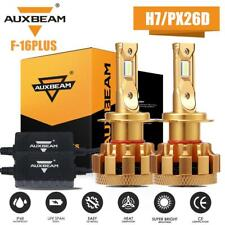 AUXBEAM H7 LED Headlight Bulb Conversion Kit High Low Beam Lamp 6000K White F16P