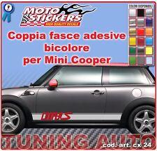 Mini Cooper - Fasce adesive a 2 colori - cod. art. cx24