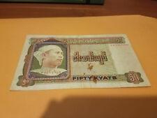 Burma note