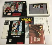 Time Cop(Super Nintendo Entertainment System SNES) CIB 100% Complete Ex+ HTF