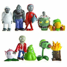 10pcs Plants vs. Zombies Action Figures DR.ZOMBOSS PVC Toys Set Kid Gift Decor