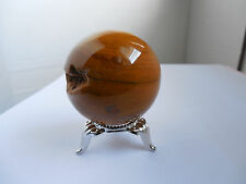 43mm YELLOW JASPER SPHERE from Madagascar 104g;Metaphysical;Wicca;Feng Shui #10
