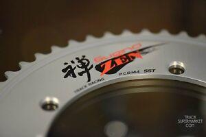 Sugino Zen Track Racing Chain Ring - Silver or Black - NJS Keirin Pista