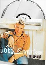 NICK CARTER - Help me CD SINGLE 2TR EU CARDSLEEVE 2002 BACKSTREET BOYS