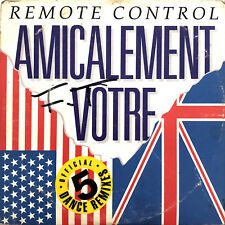 Remote Control Maxi CD Amicalement Vôtre - France (F/F)