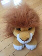"Lion King Plush Simba Mufasa 22"" Large Vintage Walt Disney Co Toy"