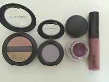 Mac Make Up - Selling as a pack - 2 Eyeshadow + 1 Fluidline = 1 Lip Glass - NEW