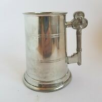English Pewter 21st Birthday 1pt Tankard Stein Craftsman Made in Sheffield :B6