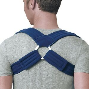 FLA Pro-lite Deluxe Clavicle Posture Support corrector fracture extra padding