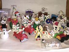 Vtg 1990s Disney 101 DALMATIANS Puppy Dogs McDonalds PVC Figures Toys HUGE LOT