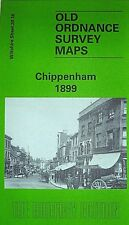 OLD ORDNANCE SURVEY DETAILED MAP CHIPPENHAM WILTSHIRE  1899 GODFREY EDITION