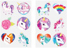 Childrens Temporary Tattoos Fun Party Bag Fillers Unicorns Boys Girls Kids