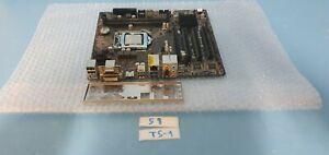 ASRock H81M  Motherboard CPU: Intel Core i3-4130 3.4GHz SR1NP