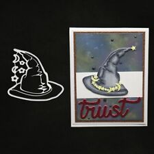 Halloween Hat Metal Cutting Dies Stencil DIY Scrapbooking Album Paper Card Craft