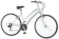 Schwinn 700C Women's Network 1 Hybrid Bike Bicycle - White