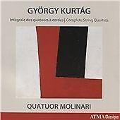 Gyorgy Kurtag - György Kurtág: Intégrale des quatuors à cordes (Complete String Quartets, 2016)