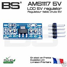 AMS1117 LDO 5V regulator module multiwii STM32 Arduino PI Pro FR exp J+0 10239