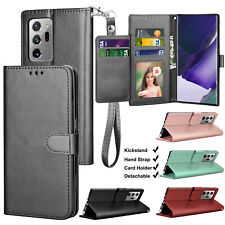 For Samsung Galaxy Note 20 Ultra 5G/Note 20 Flip Leather Wallet Case Stand Cover