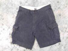 Polo Ralph Lauren Chino Military Cargo Shorts Men 40 Navy Blue
