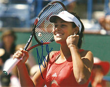 ANA IVANOVIC SIGNED 8X10 PHOTO PROOF COA AUTOGRAPHED TENNIS SEXY
