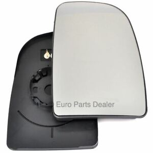 Wing door Mirror Glass Driver side for Peugeot Boxer 2006-20 Heated
