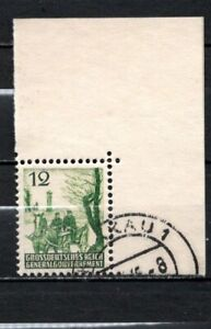 GERMANY OCCUPATION 1945 WWII Poland Unissued Gorale Land RARE USED
