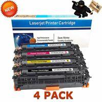 Toner for HP 312A CF380X Laserjet Pro MFP M476 M476nw M476dn M476dw | 4 Pack Set