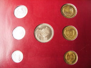China 1981 1982 Coin Sets of All Nations,  comtechwolrd