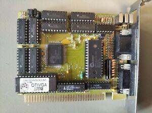 Very rare VGA ISA8 Videocard OAK OTI VGA EGA for PC/XT