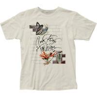 Pink Floyd Wife & Teacher T Shirt Mens Licensed Rock N Roll Tee Vintage White