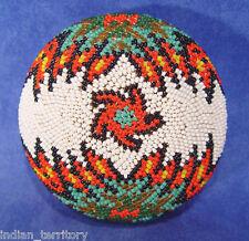 "Paiute Beaded Basket c.1930-1950 2"" x 3 3/4"""