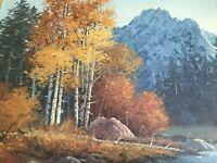 Original Oil Painting on canvas, Framed, Artist: Ray Swanson