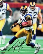 Torry Holt Signed Autographed St. Louis Rams 8x10 Photo TRISTAR