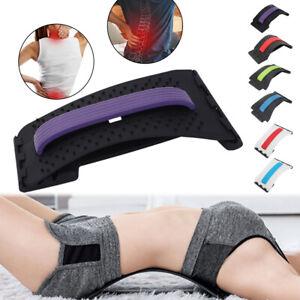 Spine Deck Orthopaedic Back Lumbar Sciatica Nerve Stretcher Massager Support