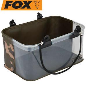 Fox Aquos Camolite Water/Rig Bucket 30,5x20,5x15cm - Angeleimer, Angelzubehör