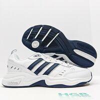 Adidas Strutter Men's Athletic Running Training Gym Sport White Black EG2654